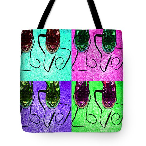 The Color Of Love Tote Bag by Paul Ward