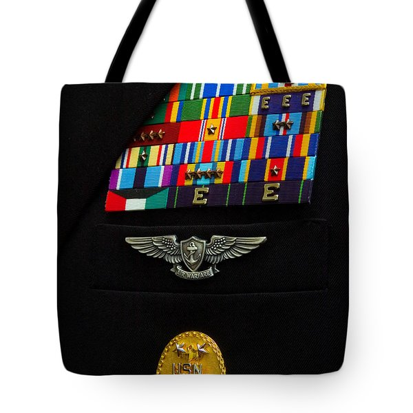 The Command Master Chief Badge Tote Bag by Stocktrek Images