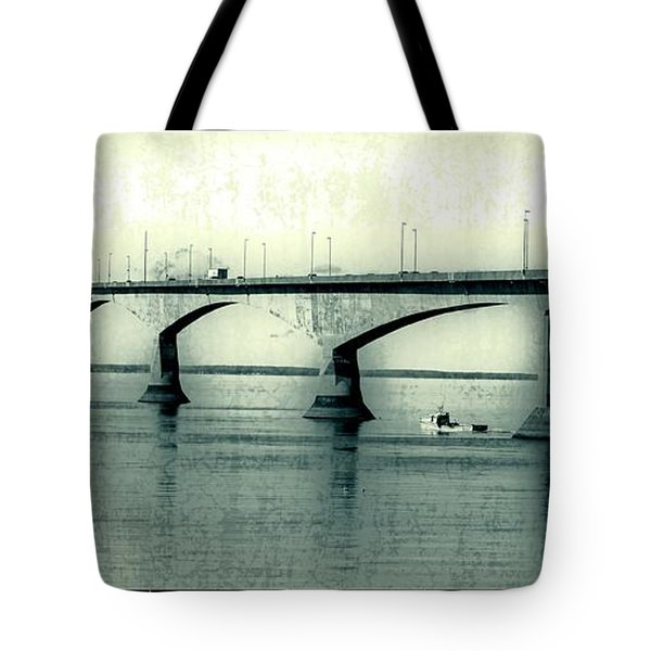 The Confederation Bridge Pei Tote Bag by Edward Fielding