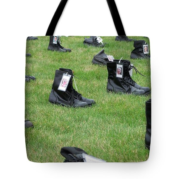 The Cost of War Tote Bag by Chalet Roome-Rigdon