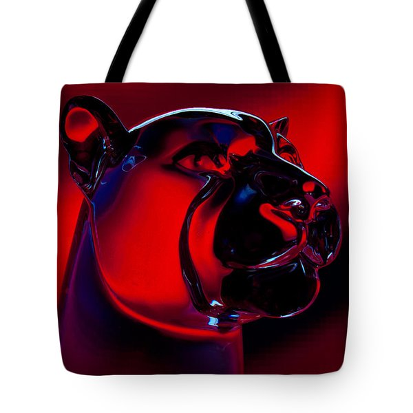 The Cougar Tote Bag by David Patterson