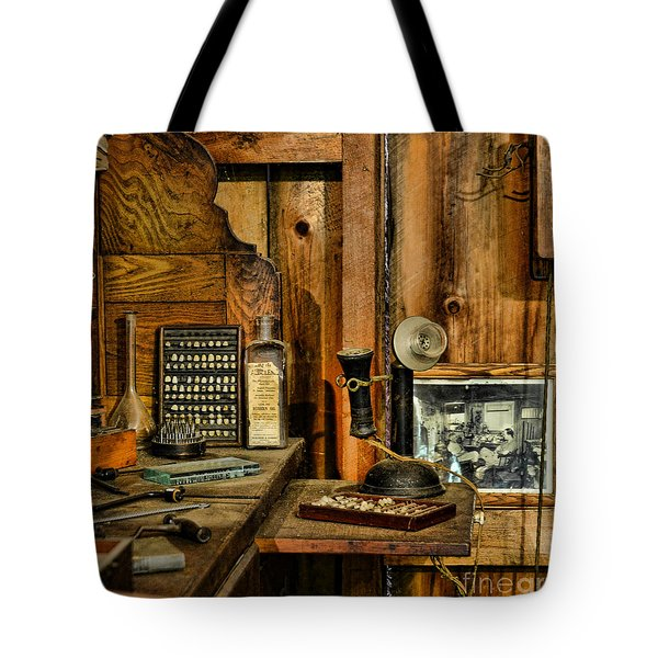 The Dentist Office Tote Bag by Paul Ward