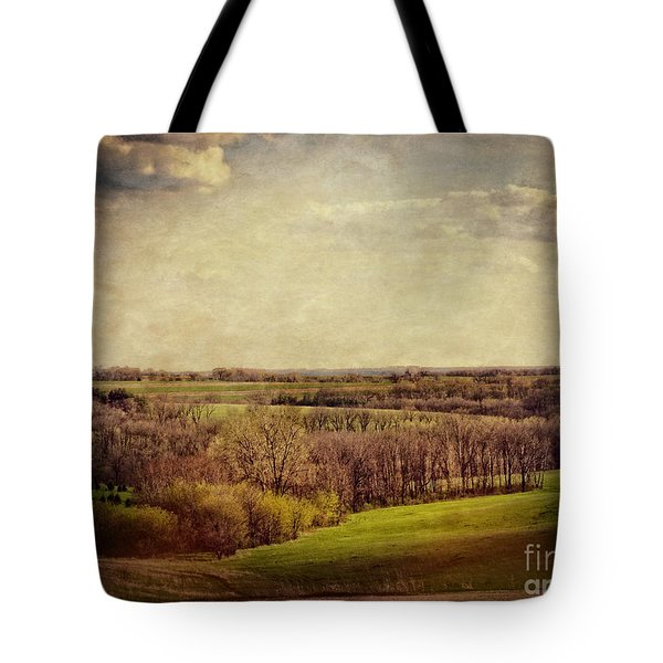 The Driftless Zone Tote Bag by Mary Machare
