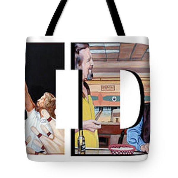 The Dude Abides Tote Bag by Tom Roderick