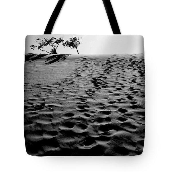 The Dunes At Dusk Tote Bag by Tara Turner
