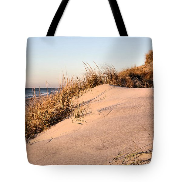 The Dunes of Jones Beach Tote Bag by JC Findley