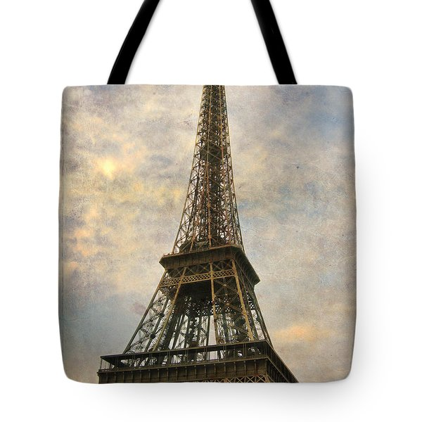 The Eiffel Tower Tote Bag by Laurie Search