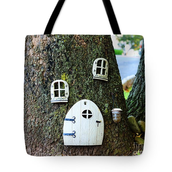 The Elf House Tote Bag by Paul Ward