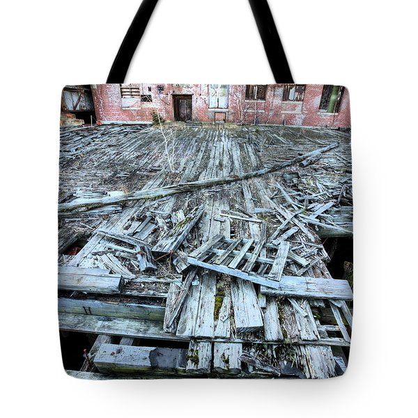 The Empty Planet Tote Bag by JC Findley