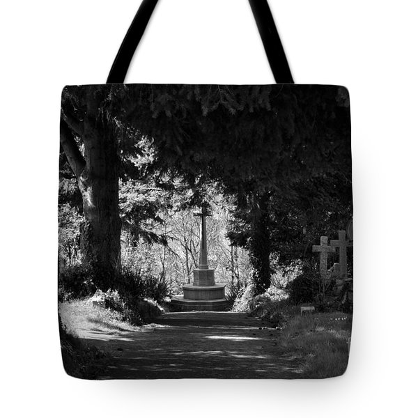 The End Tote Bag by Brian Roscorla