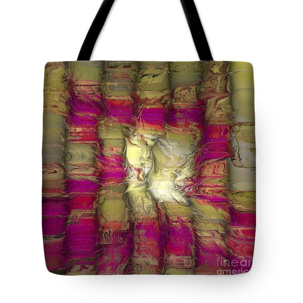 The Face Within Tote Bag by Deborah Benoit