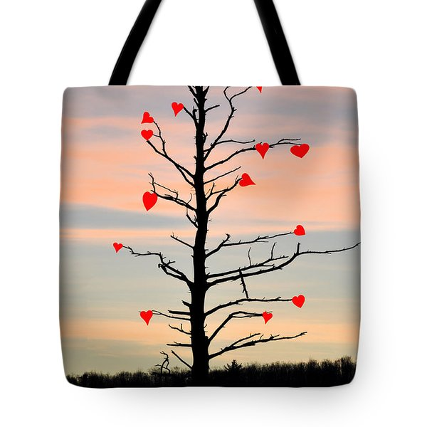 The Fall Of Love Tote Bag by Bill Cannon