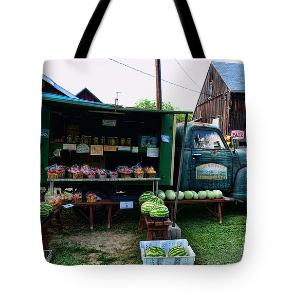 The Farmer's Truck Tote Bag by Paul Ward