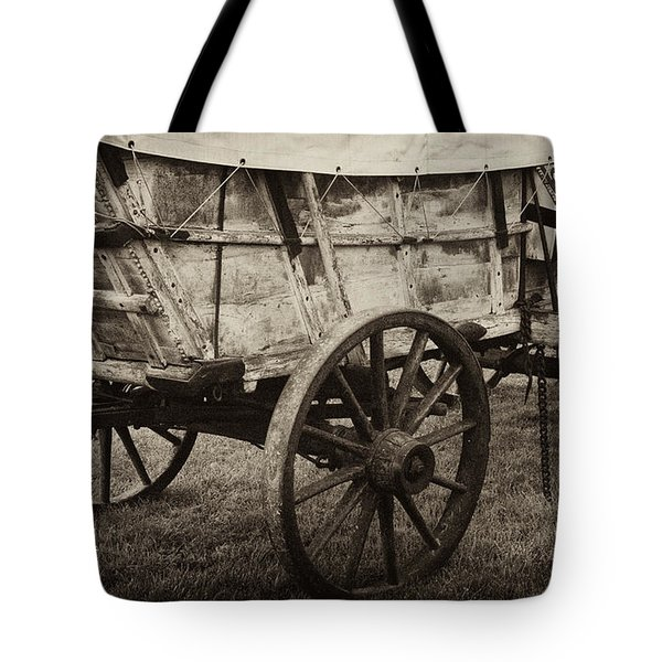 The First Station Wagons Tote Bag by Paul W Faust -  Impressions of Light