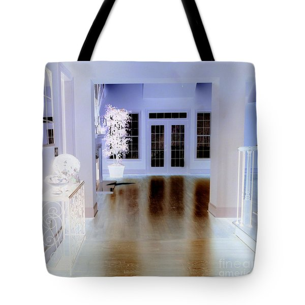 The Forgotten House Tote Bag by Renee Trenholm