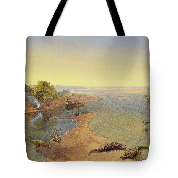 The Ganges Tote Bag by William Crimea Simpson