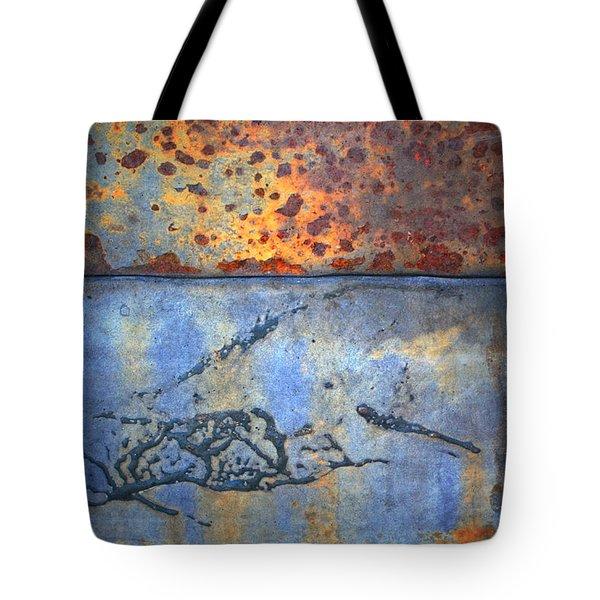 The Garbage Can Tote Bag by Tara Turner
