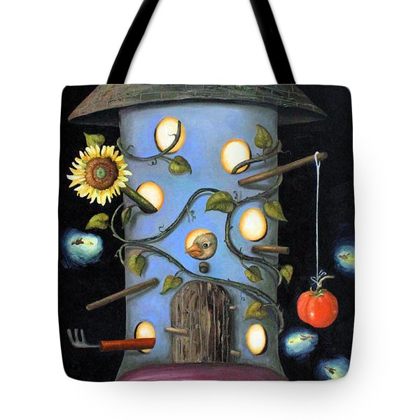 The Gardener Tote Bag by Leah Saulnier The Painting Maniac