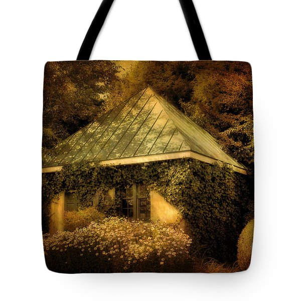 The Gatehouse Tote Bag by Lois Bryan