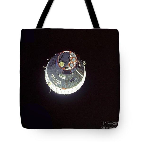 The Gemini 7 Spacecraft Tote Bag by Stocktrek Images