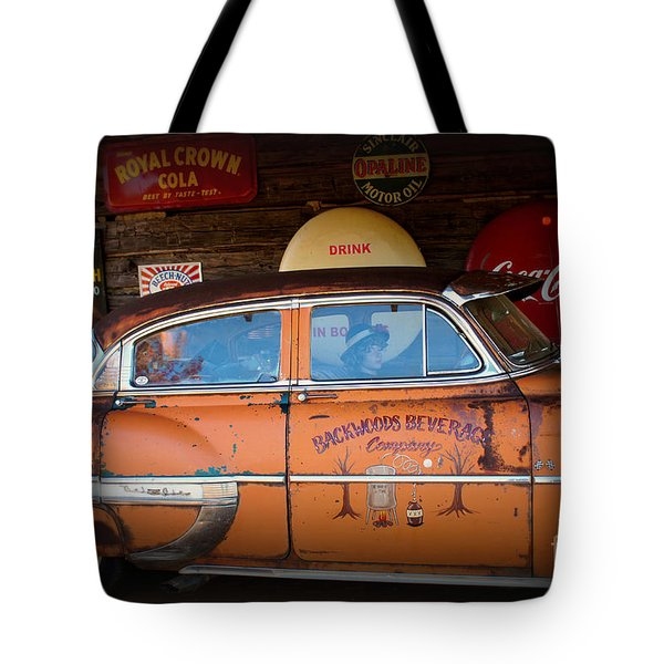 The Getaway Driver Tote Bag by Benanne Stiens