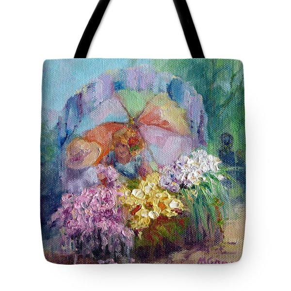 The Gift Tote Bag by Marie Green