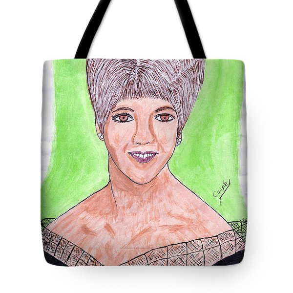 The Girl I Fell In Love With Tote Bag by Carl Deaville