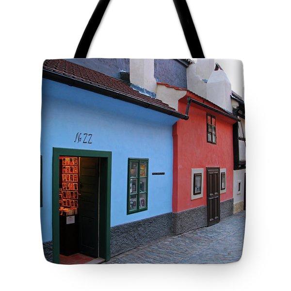 The Golden Lane Tote Bag by Mariola Bitner