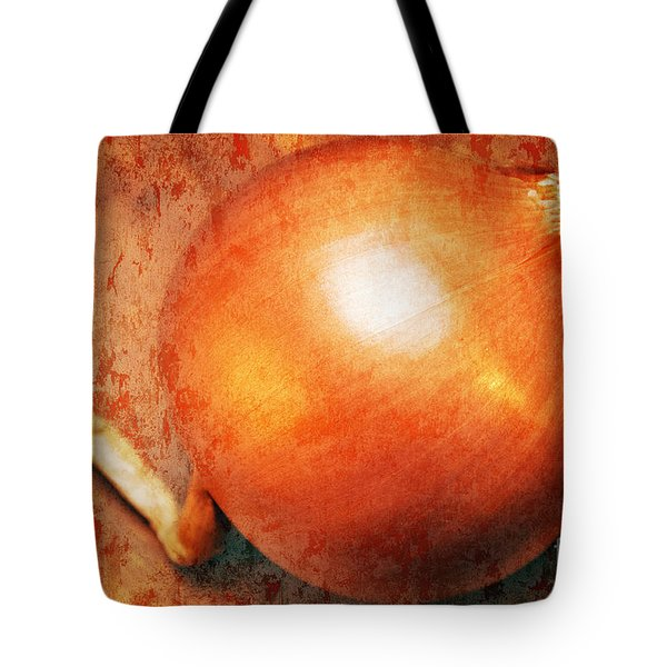 The Golden Onion Tote Bag by Andee Design