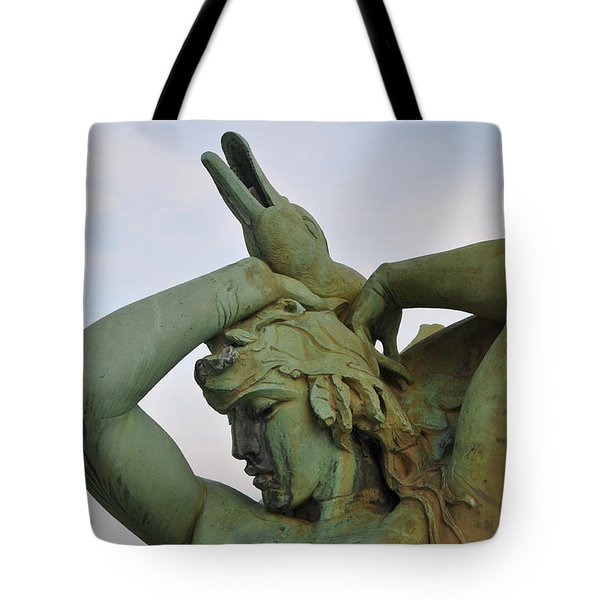 The Goose Strangler Tote Bag by Bill Cannon