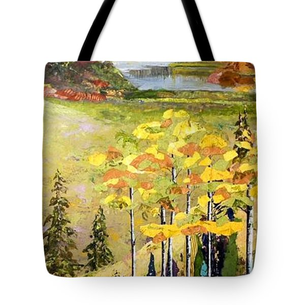 The Gore Range Tote Bag by Saundra Lane Galloway