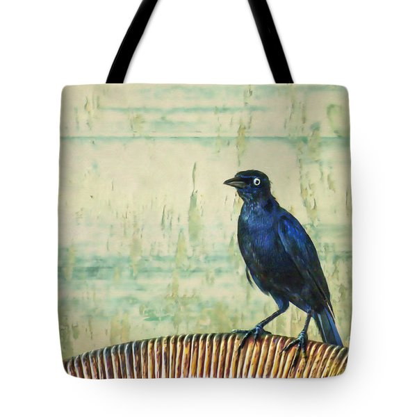 The Grackle Tote Bag by John Edwards
