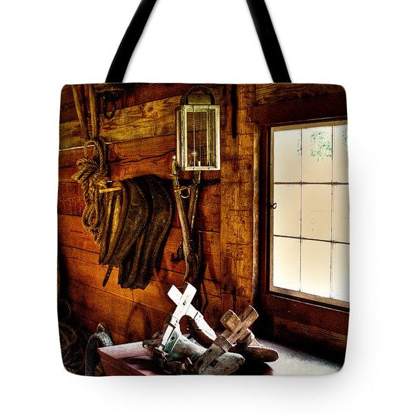 The Granary At Fort Nisqually Tote Bag by David Patterson