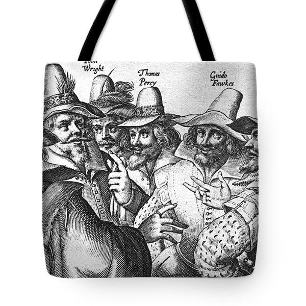 The Gunpowder Rebellion, 1605 Tote Bag by Photo Researchers