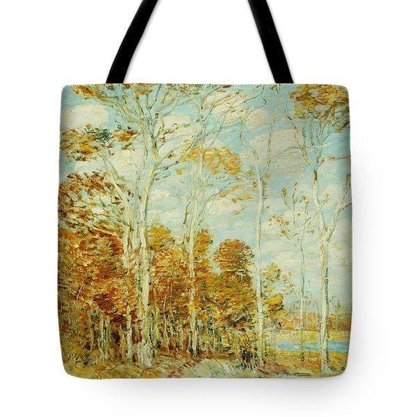 The Hawk's Nest Tote Bag by Childe Hassam