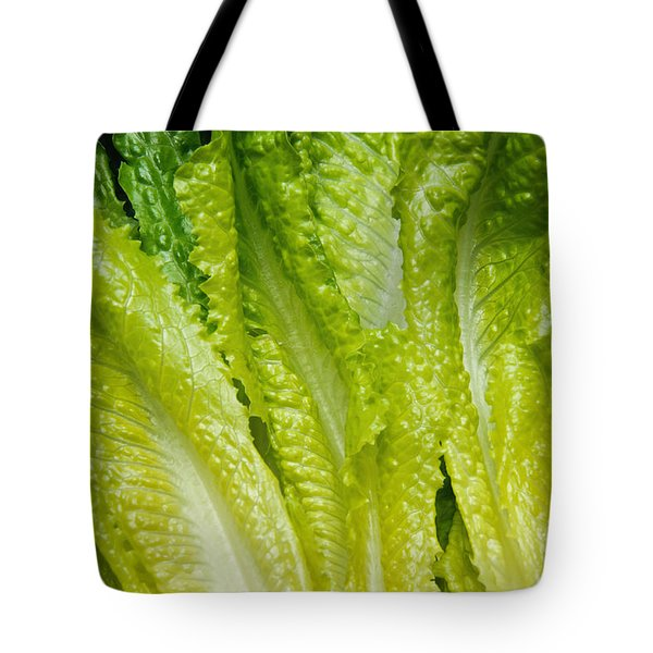 The Heart Of Romaine Tote Bag by Andee Design