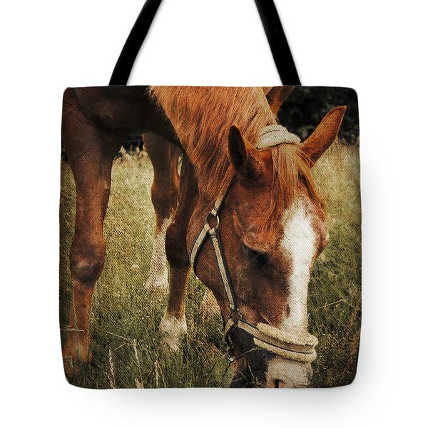 The Horse Tote Bag by Angela Doelling AD DESIGN Photo and PhotoArt