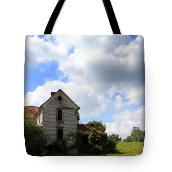 The House On The Hill Tote Bag by Karen Wiles