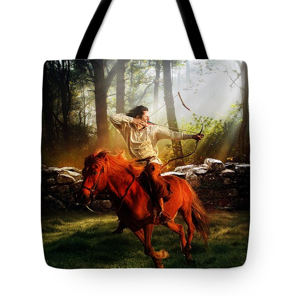 The Hunter Tote Bag by Mary Hood