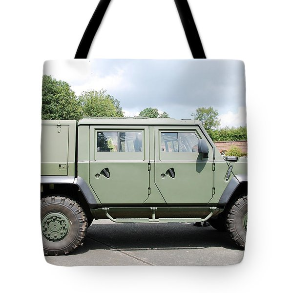 The Iveco Light Mulirole Vehicle Tote Bag by Luc De Jaeger