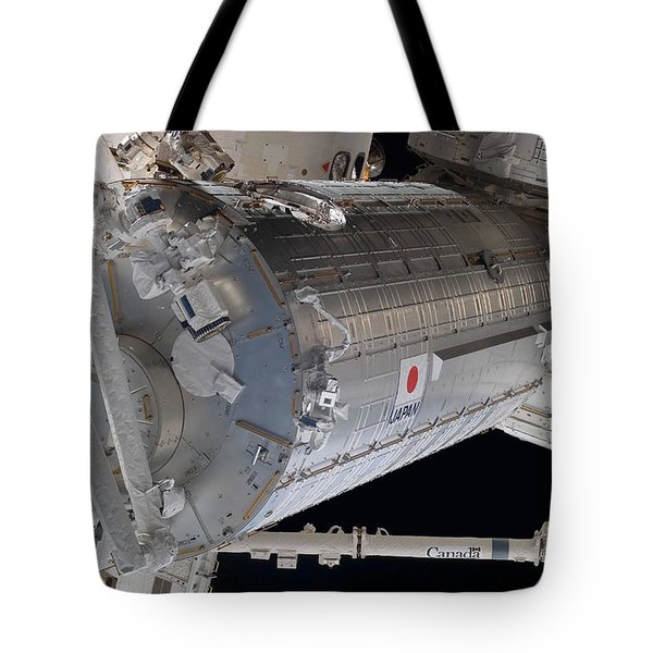 The Japanese Pressurized Module, The Tote Bag by Stocktrek Images