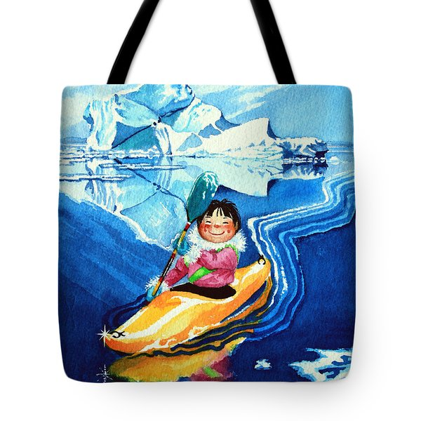 The Kayak Racer 13 Tote Bag by Hanne Lore Koehler