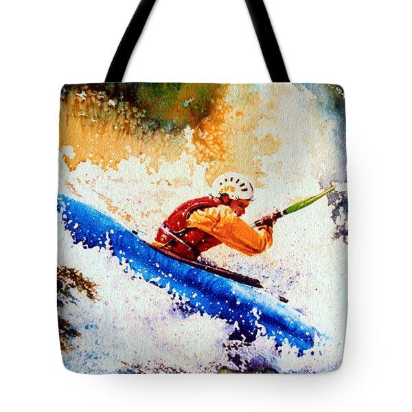 The Kayak Racer 17 Tote Bag by Hanne Lore Koehler