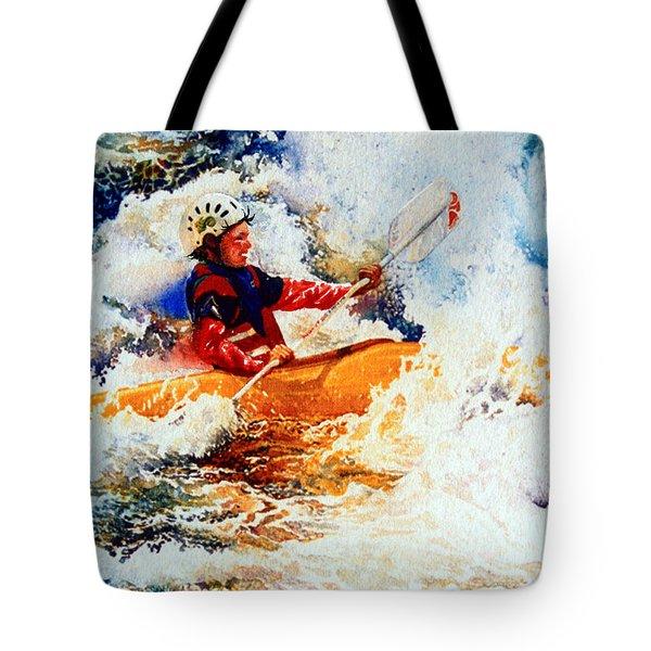 The Kayak Racer 19 Tote Bag by Hanne Lore Koehler