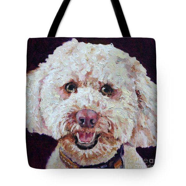 The Labradoodle Tote Bag by Enzie Shahmiri