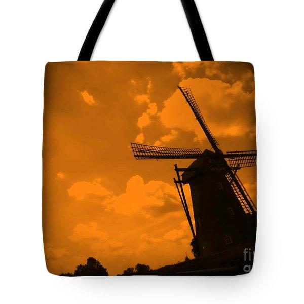 The Land Of Orange Tote Bag by Carol Groenen
