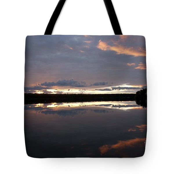 The Last Glow Tote Bag by Heiko Koehrer-Wagner