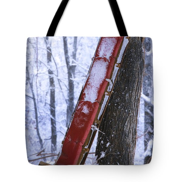 The Last Ride Tote Bag by Ron Jones