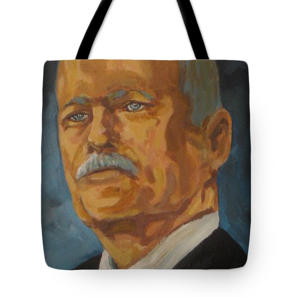 The Late Honorable Jack Layton Tote Bag by John Malone