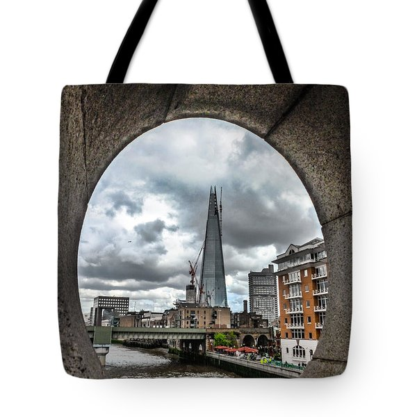 The London Shard Tote Bag by Dawn OConnor